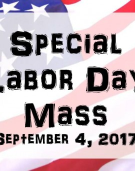 Labor Day Mass