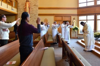 Dn. Juan Carlos Castañeda prepares for ordination