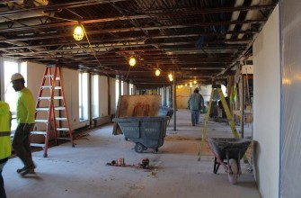 Sacred Heart remodeling project update